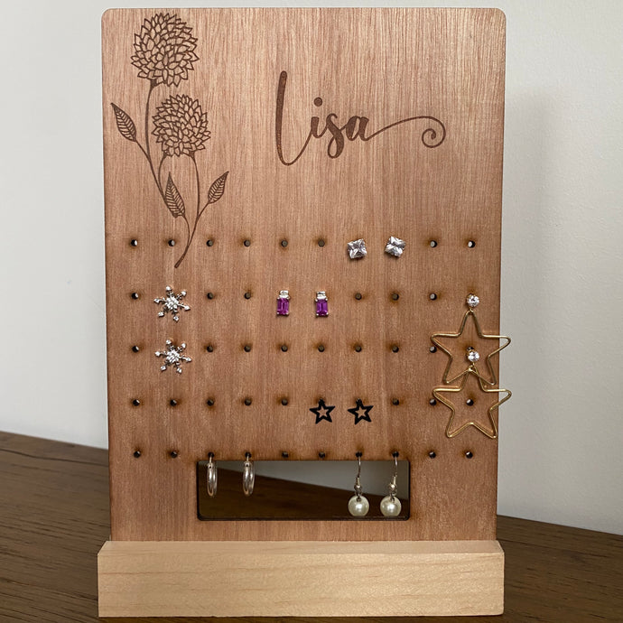 Earring display - Flowers