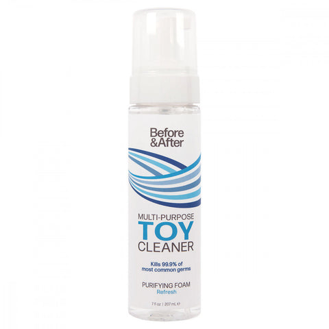 Before & After Toy Cleaner