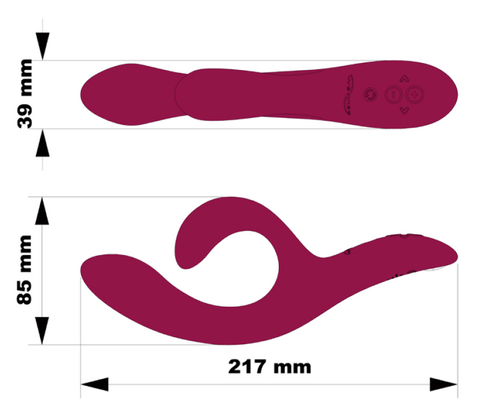 We-Vibe Nova 2 Measurements