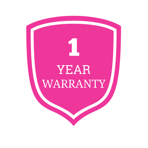 Luxe Vibes 1 Year Warranty