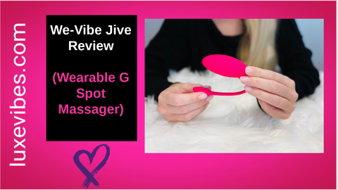 We-Vibe Jive Youtube Video Review