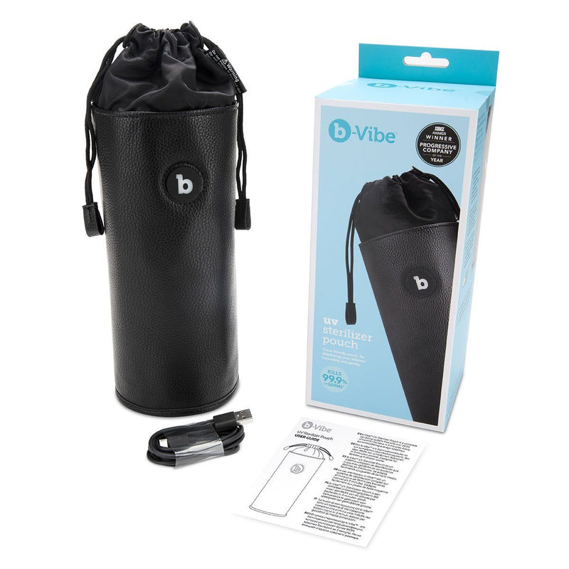 B-Vibe UV Sterilizer Pouch - Luxe Vibes Boutique
