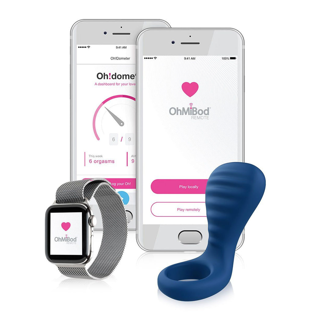 OhMiBod NEX3 BlueMotion Ring with App