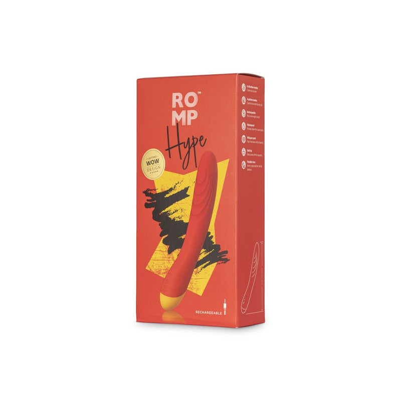 Romp Hype Red - Luxe Vibes Boutique