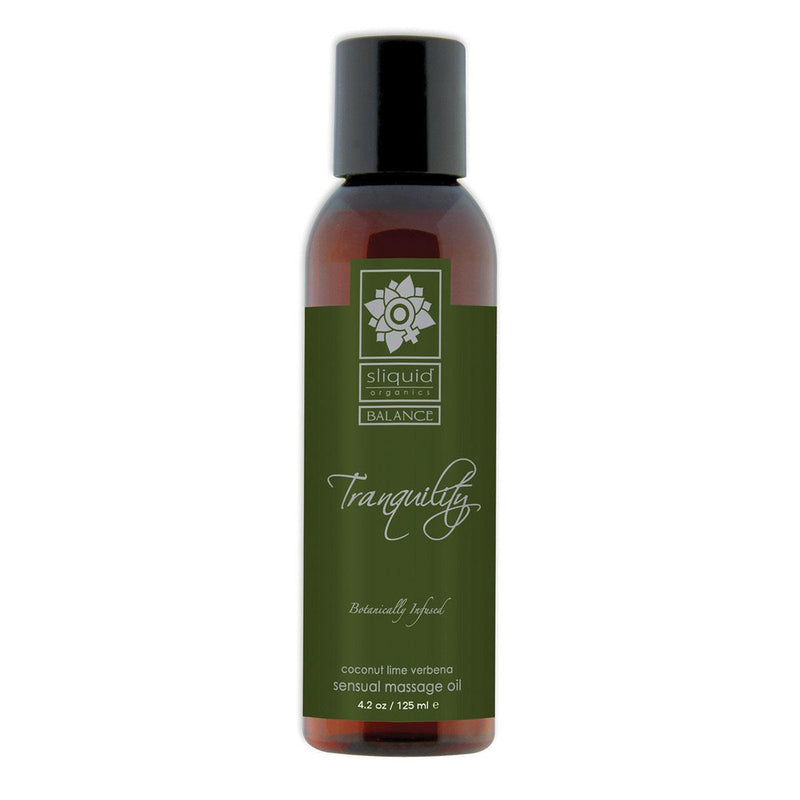 Sliquid Organics Massage Oil Tranquility - Luxe Vibes Boutique