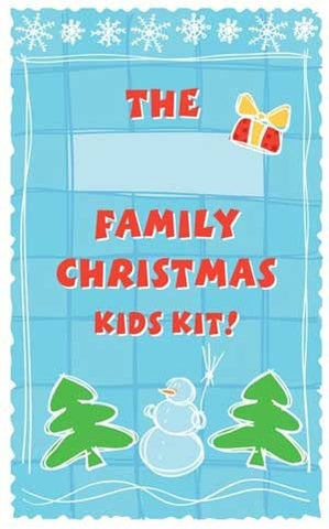 Family Holiday Kid's Kit, Christian, First Nations or Multicultural