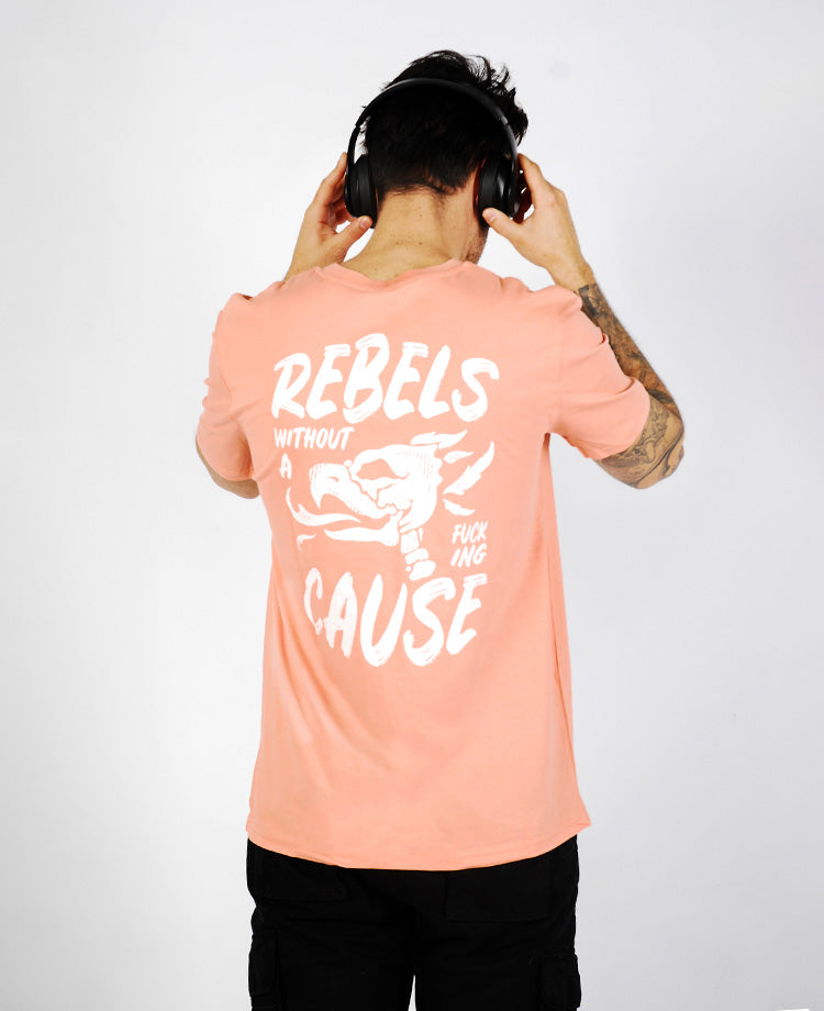 Ending Clothes Rebels WAC tee detail