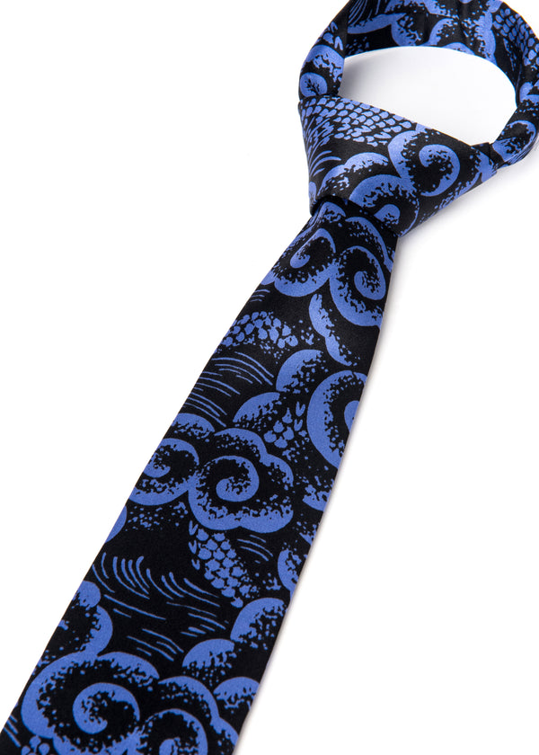 TIE - LONG DAO BLUE