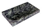 Green Marble Soap Dish - Polished and Shiny Marble Dish Holder Beautifully Crafted Bathroom Accessory by CraftsOfEgypt