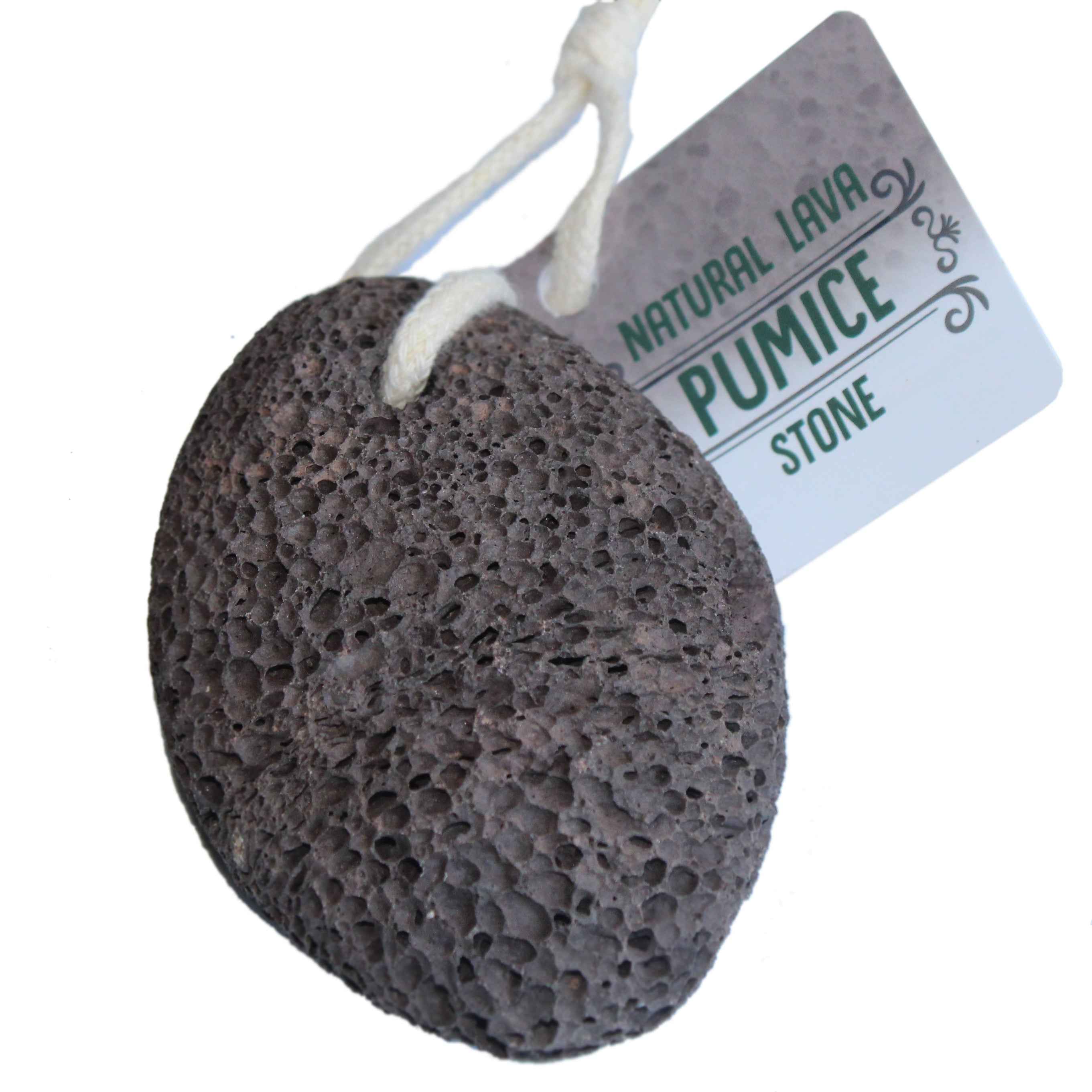 Pumice Stone for feet and foot scrubber-Ideal exfoliating Feet scrub dead skin removal pummus pumace pumis piedra - Lava stones callus removal