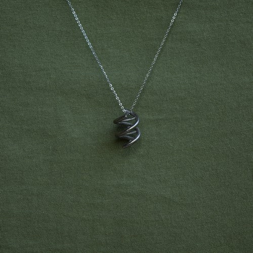 Nuclear DNA pendant necklace