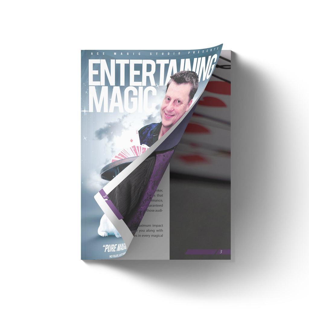 Entertaining Magic Book by Martin Peirce