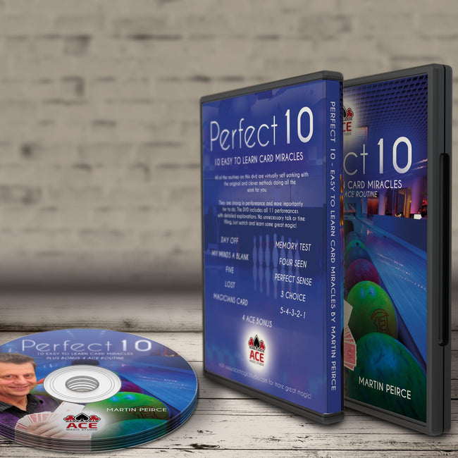 Perfect 10 - 10 EASY TO LEARN CARD MIRACLES