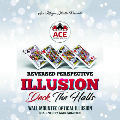 Reversed Perspective Illusion - Deck The Halls