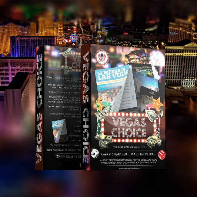 Vegas Choice - Las Vegas Mentalism - COMING SOON