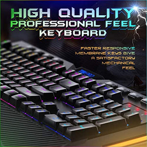 Anti Ghosting Gaming Membrane Keyboard