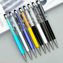 Load image into Gallery viewer, Crystal Ballpoint Pen 23 Colours -  Japanese stationery gifts drawing writing calligraphy
