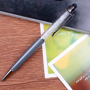 Crystal Ballpoint Pen 23 Colours -  Japanese stationery gifts drawing writing calligraphy