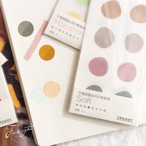Macaron Stickers -  Japanese stationery gifts drawing writing calligraphy