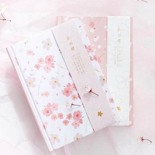 Flowery A5 Cute Planner -  Japanese stationery gifts drawing writing calligraphy