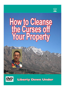 How to Cleanse the Curses off Your Property DVD #DPTM