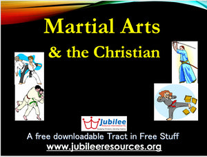 Martial Arts & the Christian Tract