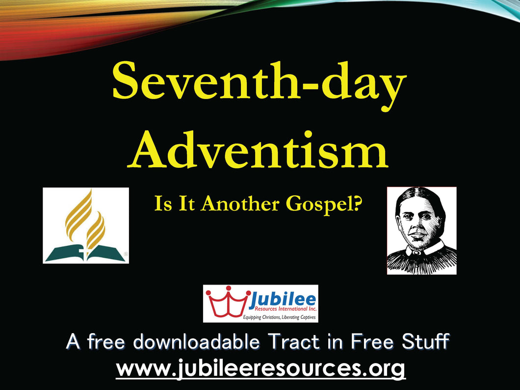 7th-Day Adventism Tract