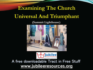 Church Universal & Triumphant Tract