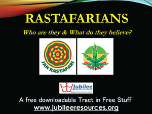 Rastafarians: Who Are They & What DO They Believe? Tract