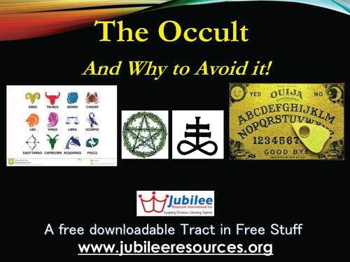 The OCCULT: & Why to Avoid it! Tract