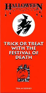 Halloween - Trick or Treat with The Festival of Death booklet BHTM