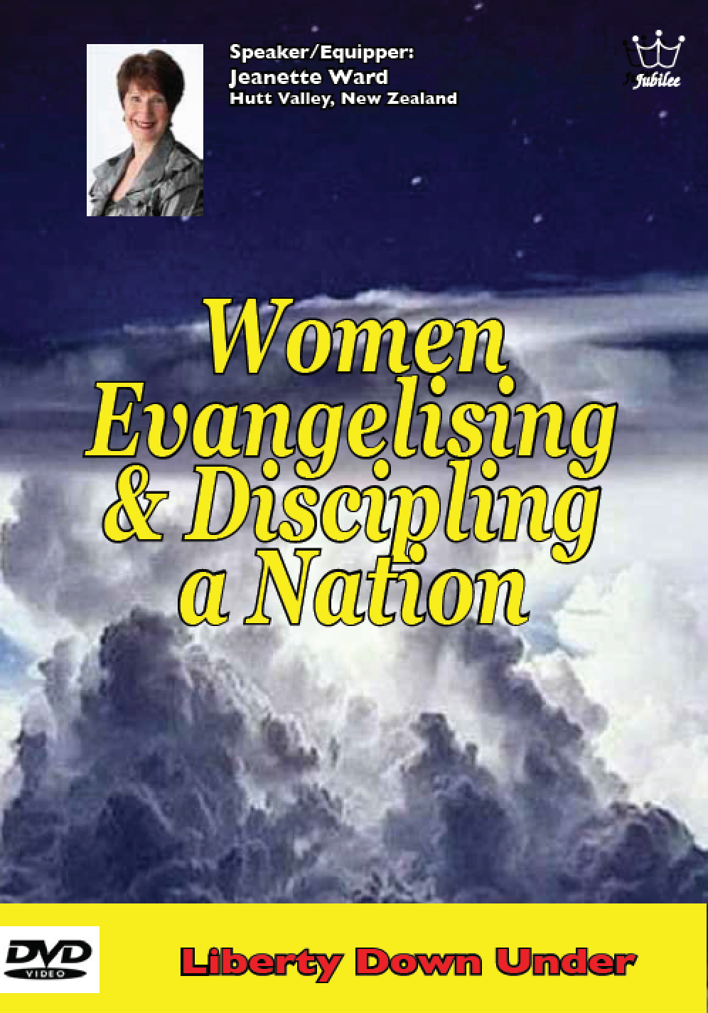 Women Evangelising & Discipling a nation, by Jeanette Ward, DVD # DWEW