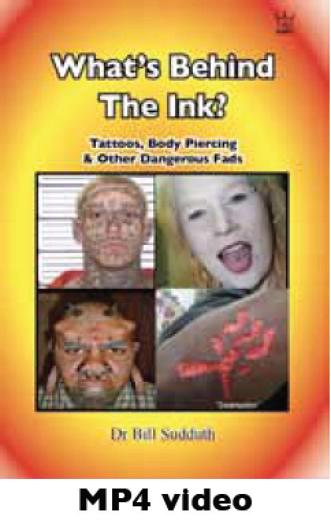 What's Behind the Ink? Tattoos, Body Piercing & Other Fads MP4 Downloadable video