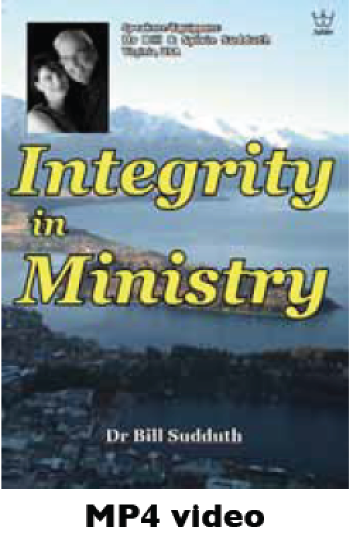 Integrity in Ministry, MP4 Downloadable video