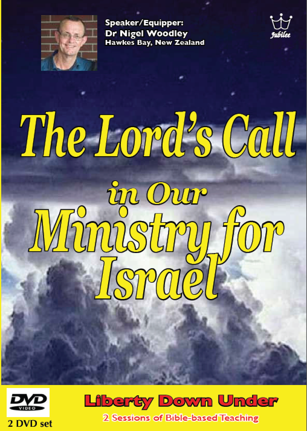 The Lord's Call for Israel, Dr. Nigel Woodley, MP4 Download session 2 of 2