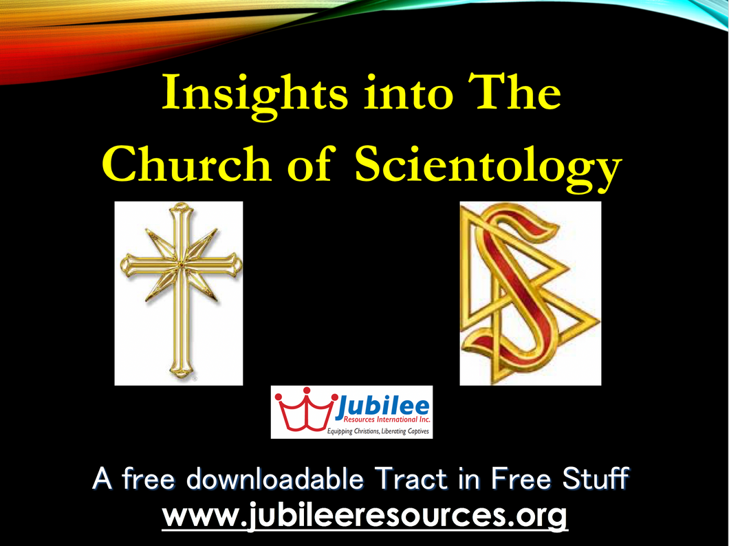 Church of Scientology tract