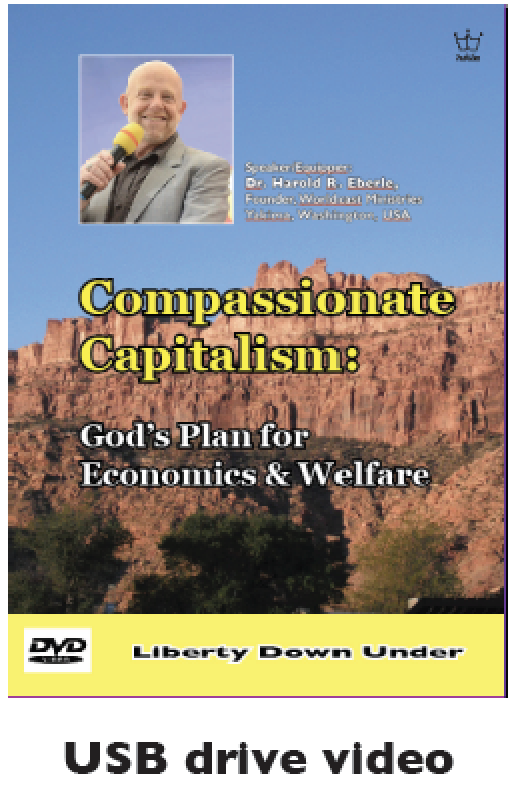 Compassionate Capitalism: God's Plan for Economics & Welfare. USB Drive Video