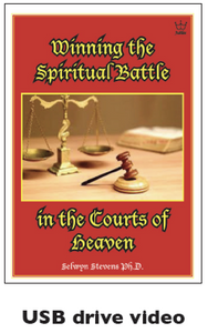 Winning the Spiritual Battle in the Courts of Heaven. USB Drive Video