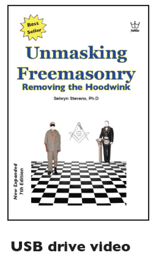 Unmasking Freemasonry by Dr Selwyn Stevens - USB Drive Video MP4
