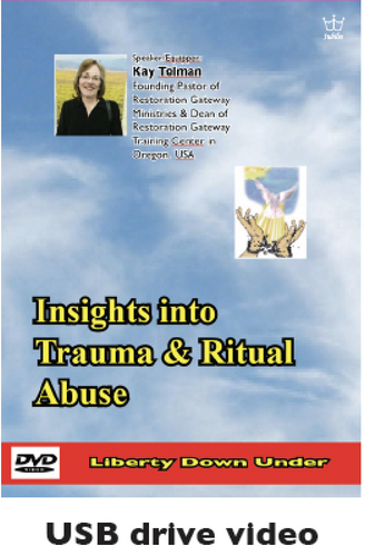 Insights into Trauma & Ritual Abuse. USB drive Video