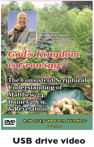 God's Kingdom is Growing: The Consistent Scriptural Understanding.... USB drive Video