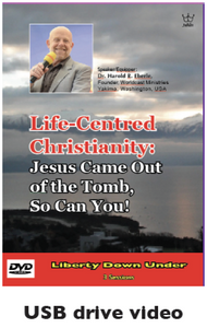 Life-Centred Christianity:  Jesus Came Out of the Tomb, So Can You! USB drive Video