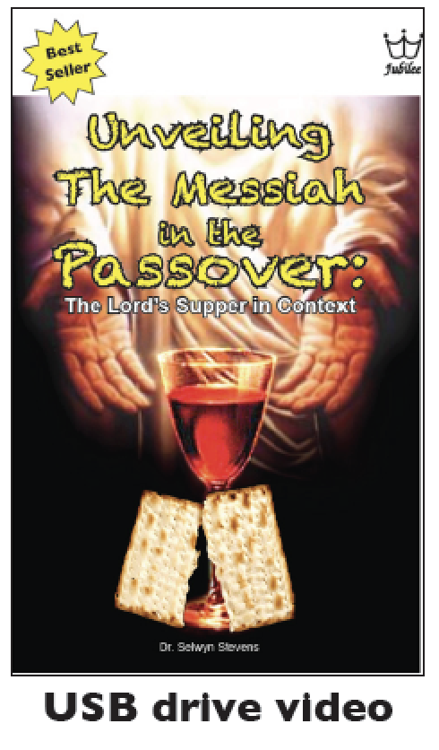 Unveiling the Messiah in the Passover: The Lord's Supper in Context. USB drive Video
