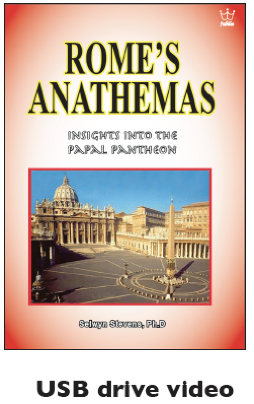 Rome's Anathemas: Insights into the Papal Pantheon.  USB drive Video