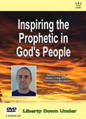 Inspiring the Prophetic in God's People. DVD set #DITM