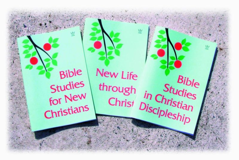 New Believer Interactive Bible Studies - Set of 3 #BISK
