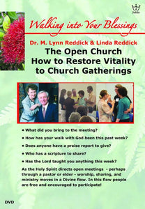 The Open Church - Restoring Vitality to Church Gatherings. DVD #DTSR