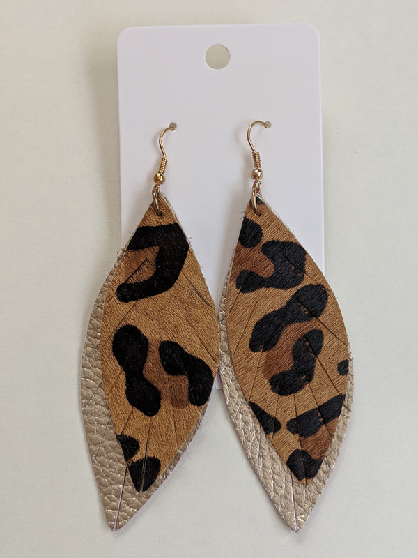 Wild About You Feather Earrings