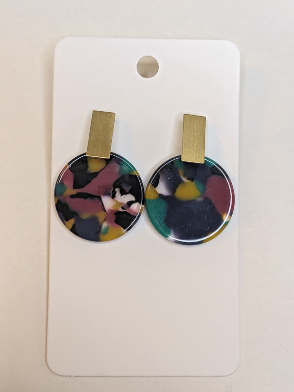 Lennon Acrylic Earrings