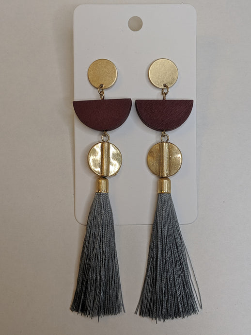 Unexpected Tassle Earrings